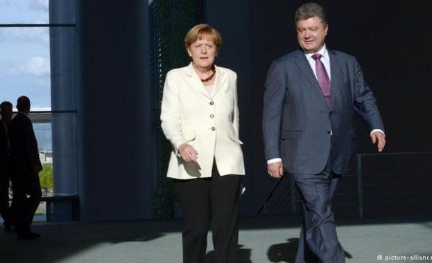 Меркел: Украинската криза оказва отрицателно въздействие върху икономиката на Германия