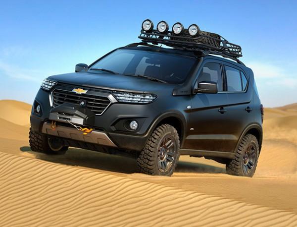 Chevrolet Niva concept дефилира в Москва