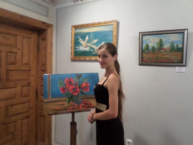 Изложба на младата бесарабска художничка Алла Балабан бе открита в Сливен