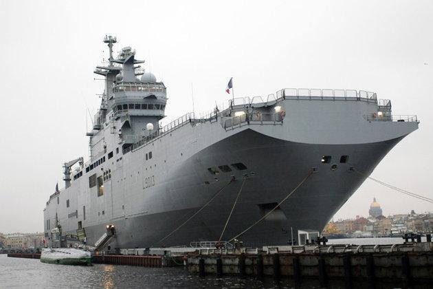 «Мистрал» с руски екипаж завърши първото плаване