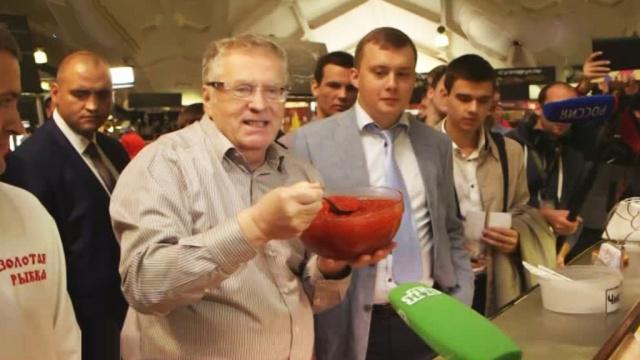 В отговор на санкциите Жириновски предложи диета с хайвер