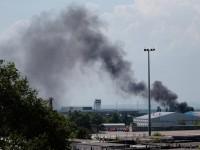 Продължават сблъсъците край летището в Донецк
