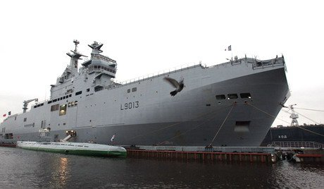 """Русия постави под въпрос надеждността на Франция след изявленията за """"Мистрал"""""""
