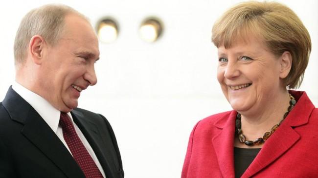 Путин и Меркел обсъдиха доставките на природен газ в ЕС