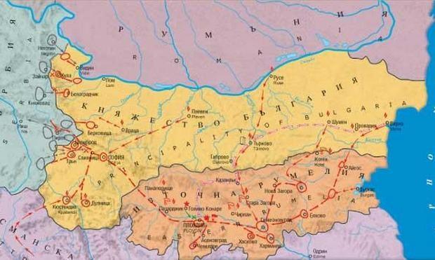 Съединение на България