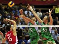 България загуби от Русия с 2:3 на световното по волейбол
