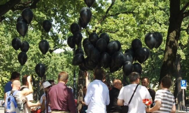 Днес Европа провежда акция в памет на жертвите в Одеса (18+)