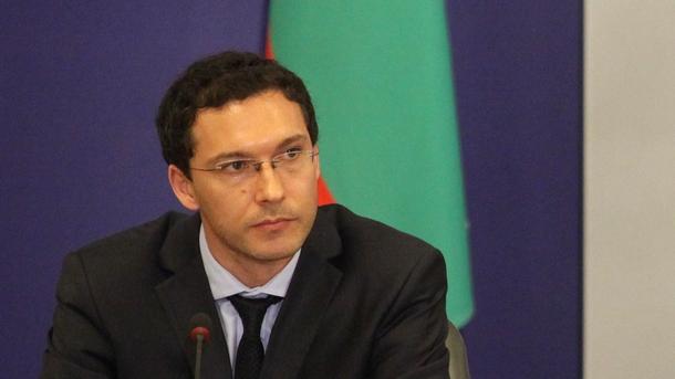 Министърът на външните работи Даниел Митов.