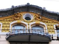 Дом на И.П. Исаков. Елементи на декора