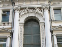 Дом на А.К. Жиро. Елемент на декора
