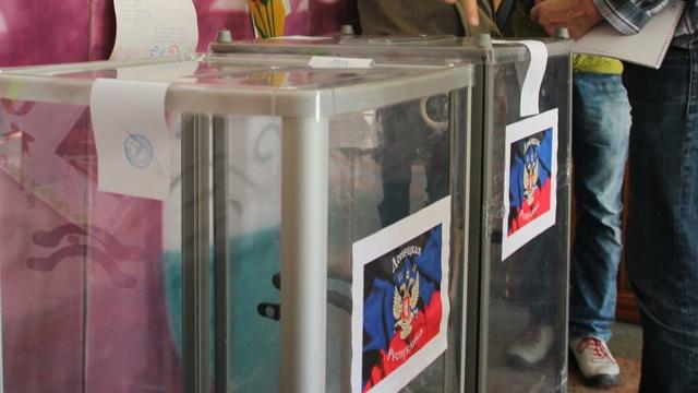 Донбас се готви за избори