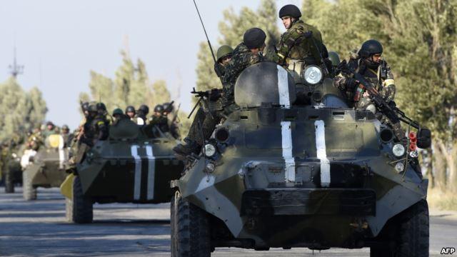 Киев подготвя настъпление на Донецк