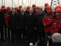 Мостът през Керченския пролив трябва да е готов в края на 2018 година