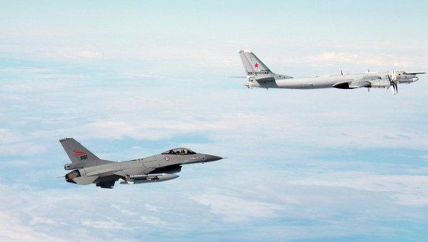 В НАТО са обезпокоени от активността на руските ВВС