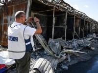 ОССЕ: сблъсъците в района на донецкото летище продължават