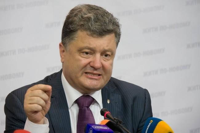 Порошенко: Изборите в ДНР и ЛНР поставят под заплаха целия мирен процес