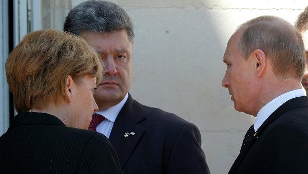 Путин и Порошенко се договориха за среща