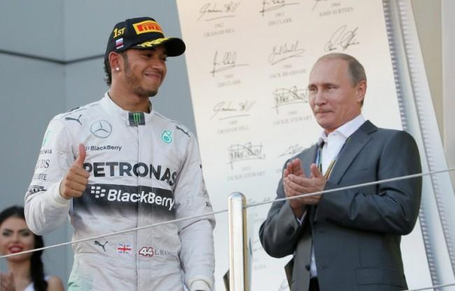 Путин поздрави новите световни шампиони във Формула 1