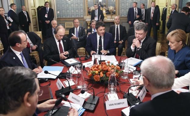 Русия и Украйна постигнаха предварително споразумение за газа