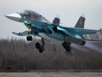 Южен военен окръг на Русия получи шест чисто нови Су-34