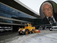 Шофьорът на снегопочистващия камион във «Внуково» е бил пиян