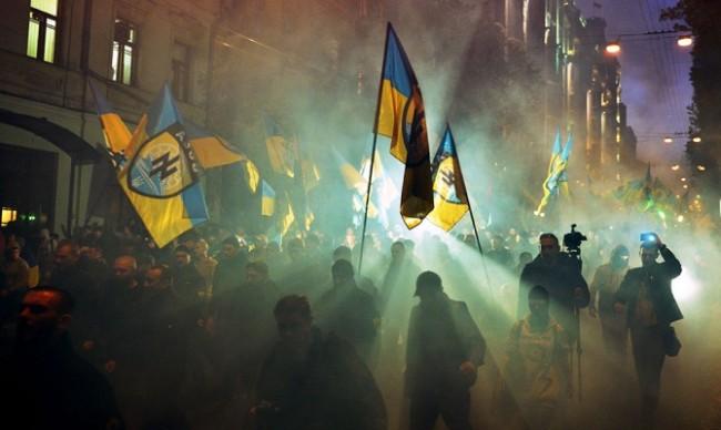МВнР на Русия изрази възмущението си от показните акции на неонацистите в Украйна