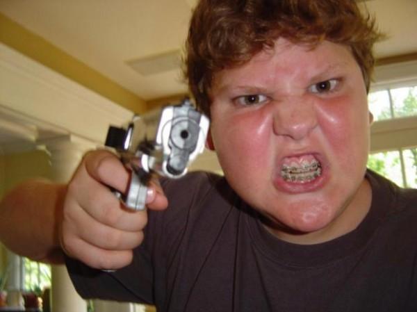 Американските ученици въоръжени до зъби