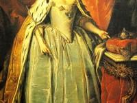 Хенрих Бухголц (1735-1781. Портрет на императрица Ана Иоановна.