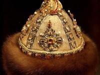 Сибирска шапка, 1684 г. Принадлежала е на цар Иван Алексеевич