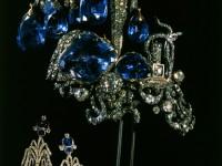 Егрет- украшение за прическа или шапка, 1750-те г.