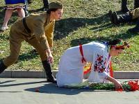 Сценка с изнасилване на украинки от съветски войници предизвика скандал в Запорожието