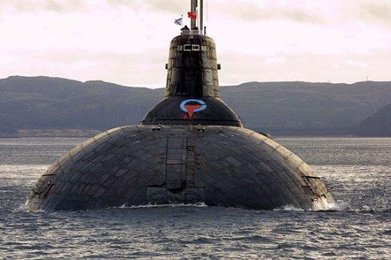 """Железният хищник """"Акула"""" – най-голямата подводница в света"""