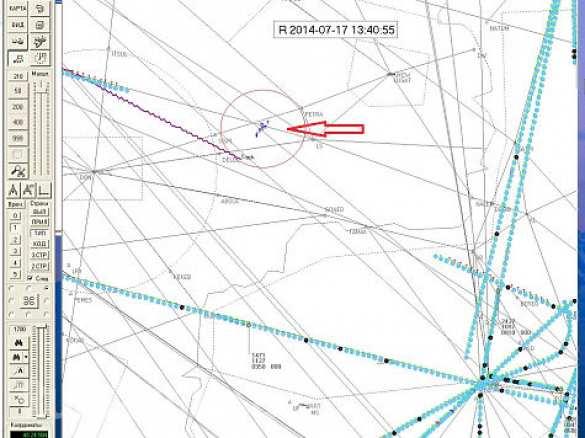 Данни на авиодиспечер потвърждават до Boeing 777 е летял военен самолет3