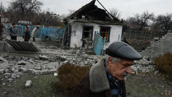 Нощта в Донецк премина под звуците на артилерийска стрелба