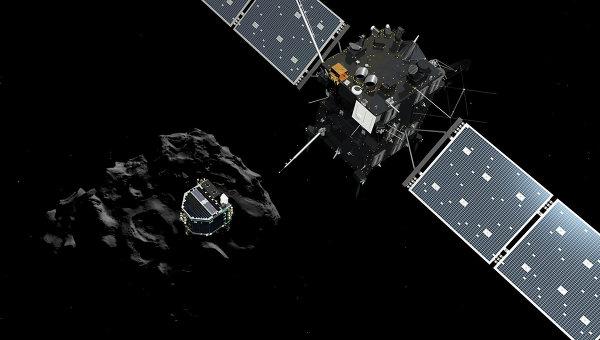 За първи път в историята космически апарат кацна на комета