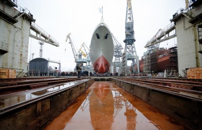 Путин подчерта важността от развитието на руското корабостроене