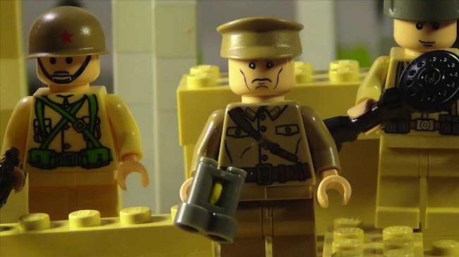 Грандиозна LEGO-възстановка на битката при Сталинград