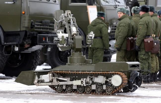 В редиците на руската армия ще се появят щатни роти от бойни роботи