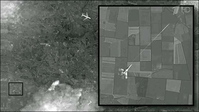 Нови данни от сателитна снимка военен самолет е атакувал  малайзийския Boeing 777