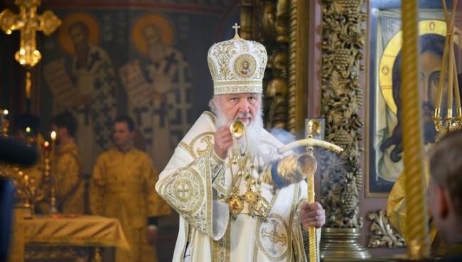 Патриарх Кирил поздрави руснаците с  Деня на народното единство и се помоли за мир в Украйна