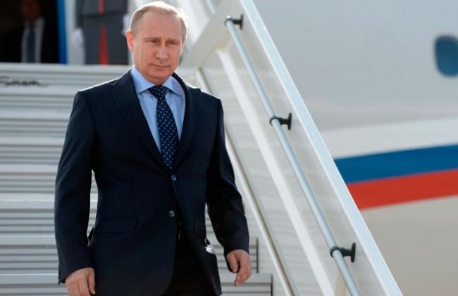 По време на последната обиколка Путин постави рекорд на полетите