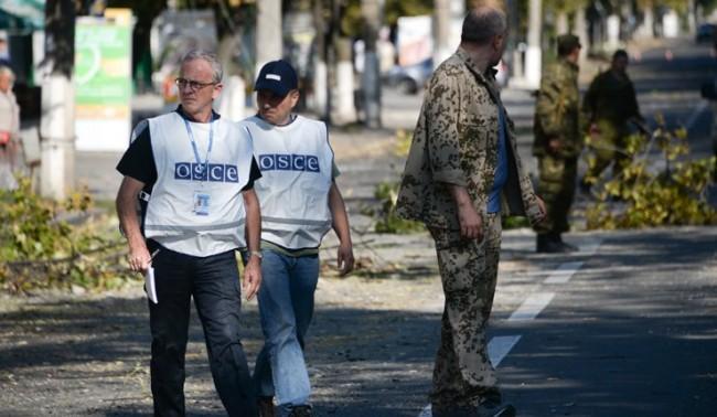 Представители на Русия, Украйна и ОССЕ провеждат среща в Донецк