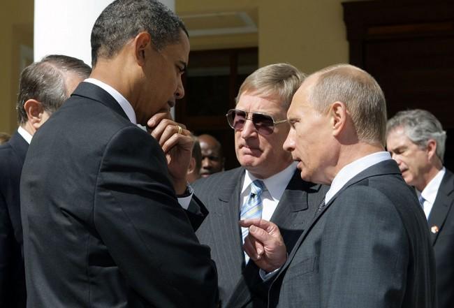 Путин и Обама се засякоха в Пекин