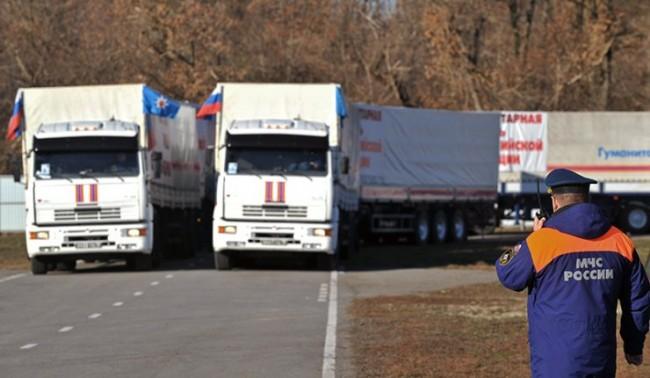 Русия подготвя още един хуманитарен конвой за Донбас