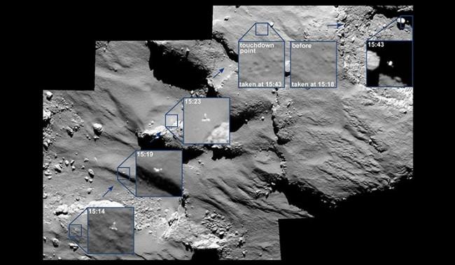 """""""Фила"""" откри на кометата органични молекули"""