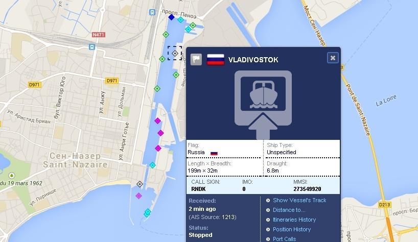 """Хеликоптероносачът Владивосток тип  """"Мистрал"""" вече е под флага на Русия"""