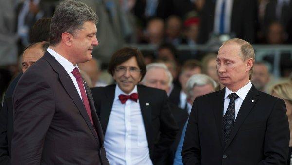Путин не е отправял заплахи на Порошенко