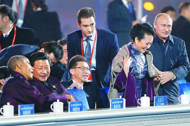 първата дама на Китай Пън Лиюан