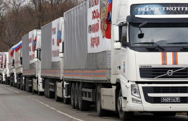 Русия изпраща пореден конвой с хуманитарна помощ в Донбас