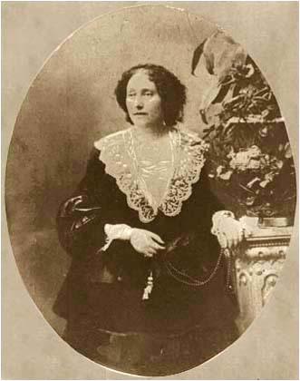 Нина Чавчавадзе в годината на смъртта.